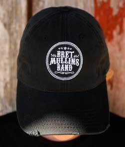 Bret Mullins Band Signature Black Cap