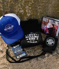 Bret Mullins Band Men's or Women's VIP pack